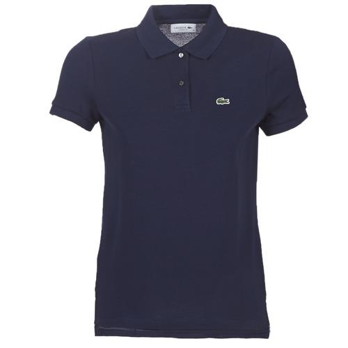 Oblečenie Ženy Polokošele s krátkym rukávom Lacoste PF7839 Námornícka modrá