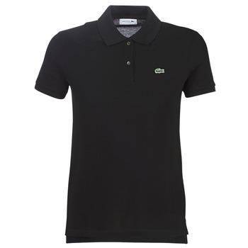 Oblečenie Ženy Polokošele s krátkym rukávom Lacoste PF7839 Čierna