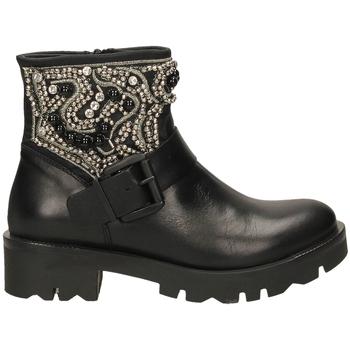 Topánky Ženy Čižmičky Tosca Blu KIRUNA c99-nero