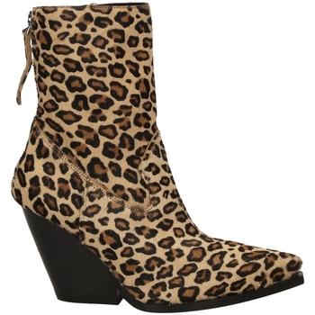 Topánky Ženy Čižmičky Poesie Veneziane CAVALLINO SAFARI leopa-leopardo