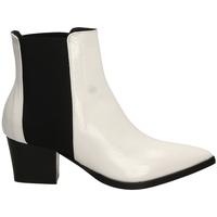 Topánky Ženy Čižmičky Lemaré HARRODS ELASTICO biane-bianco-nero