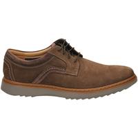 Topánky Muži Derbie Clarks UN GEO LACE dbrwn-marrone-scuro