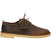 Topánky Muži Derbie Clarks DESERT LONDON beesw-natural