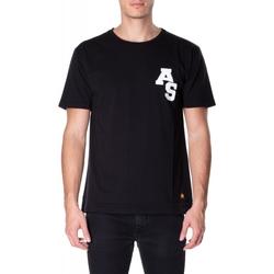 Oblečenie Muži Tričká s krátkym rukávom Atlantic Star Apparel T-SHIRT col-5-nero