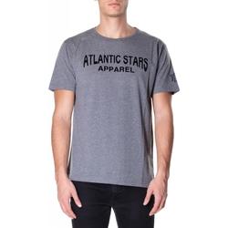 Oblečenie Muži Tričká s krátkym rukávom Atlantic Star Apparel T-SHIRT col-2-grigio-chiaro