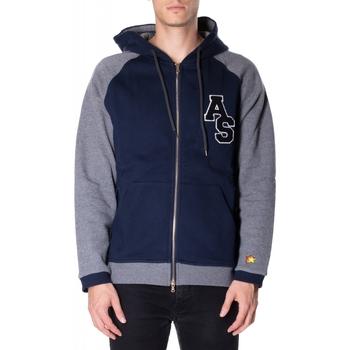 Oblečenie Muži Mikiny Atlantic Star Apparel FELPA col-2-blu-grigio