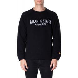 Oblečenie Muži Mikiny Atlantic Star Apparel FELPA col-3-nero