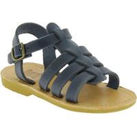 Topánky Chlapci Sandále Attica Sandals PERSEPHONE NUBUCK BLUE blu