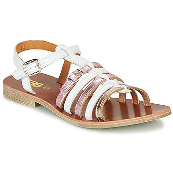 Topánky Dievčatá Sandále GBB BANGKOK Biela