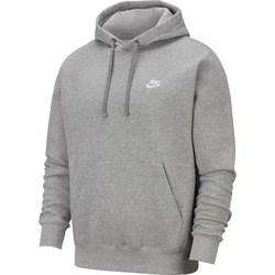 Oblečenie Muži Mikiny Nike Club Hoodie PO Sivá
