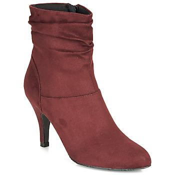 Topánky Ženy Čižmičky André LINE Bordová