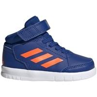 Topánky Deti Členkové tenisky adidas Originals Altasport Mid EL I Modrá