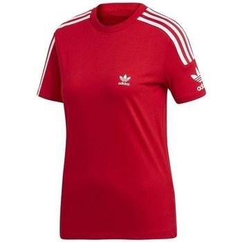 Oblečenie Ženy Tričká s krátkym rukávom adidas Originals Lock UP Tee Červená
