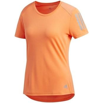Oblečenie Ženy Tričká s krátkym rukávom adidas Originals Own The Run Tee Oranžová