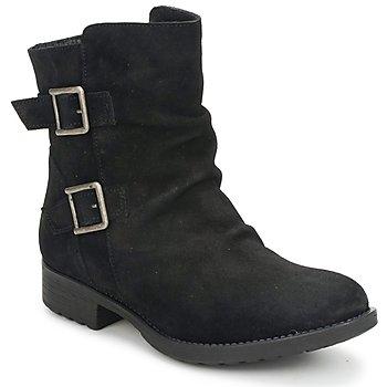 Topánky Ženy Polokozačky Casual Attitude RIJONES Čierna