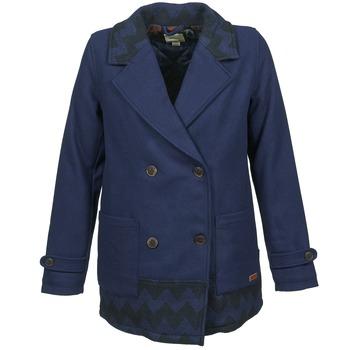 Oblečenie Ženy Kabáty Roxy MOONLIGHT JACKET Námornícka modrá / Čierna