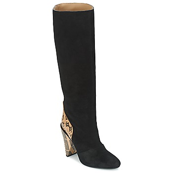 Topánky Ženy Čižmy do mesta See by Chloé SB25005 Čierna