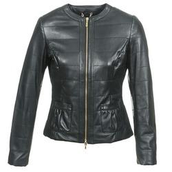 Oblečenie Ženy Kožené bundy a syntetické bundy Geox ASALA čierna