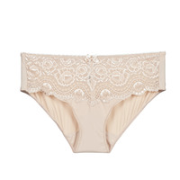 Spodná bielizeň Ženy Klasické nohavičky PLAYTEX FLOWER ELEGANCE Béžová