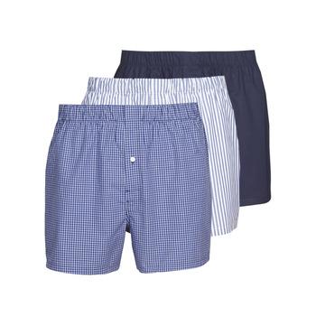 Spodná bielizeň Muži Boxerky Lacoste 7H3394-8X0 Biela / Modrá