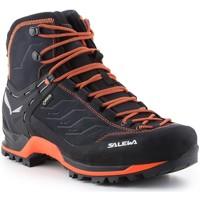 Topánky Muži Turistická obuv Salewa Ms Mtn Trainer Mid Gtx 63458-0985 black, orange