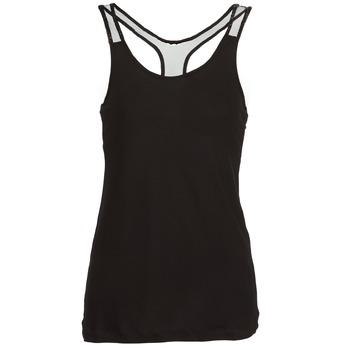 Oblečenie Ženy Tielka a tričká bez rukávov Religion DELICATE čierna