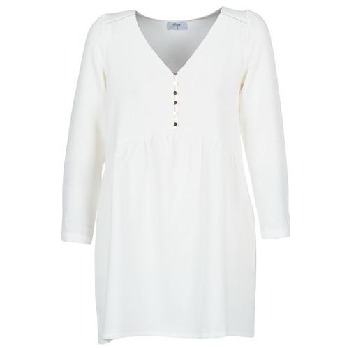Oblečenie Ženy Krátke šaty Betty London LADY Biela