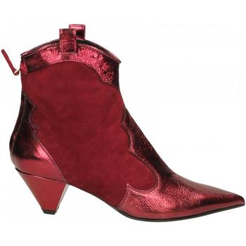 Topánky Ženy Čižmičky Aldo Castagna BOHEMIA bordeaux