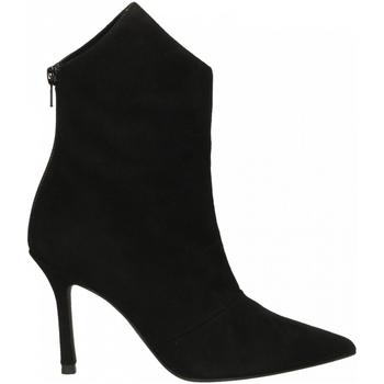 Topánky Ženy Čižmičky Marc Ellis CAMOSCIO nero