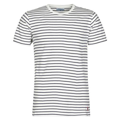 Oblečenie Muži Tričká s krátkym rukávom Yurban KINO Námornícka modrá / Biela