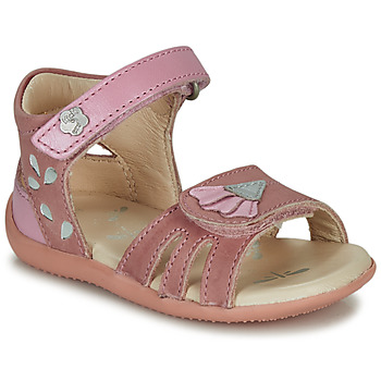 Topánky Dievčatá Sandále Kickers BICHETTA Ružová