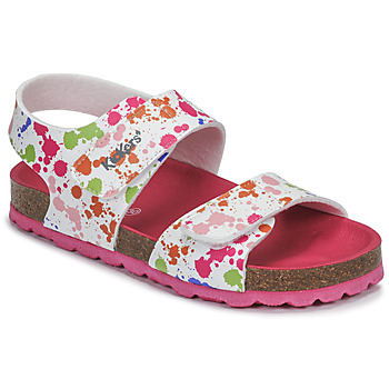 Topánky Dievčatá Sandále Kickers SUMMERKRO Biela / Viacfarebná