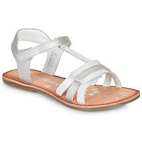 Topánky Dievčatá Sandále Kickers DIAMANTO Biela