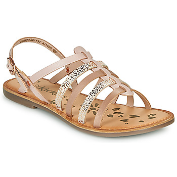 Topánky Dievčatá Sandále Kickers DIXON Ružová