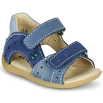 Topánky Chlapci Sandále Kickers BOPING-3 Modrá
