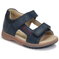 Topánky Chlapci Sandále Kickers PLAZABI Námornícka modrá