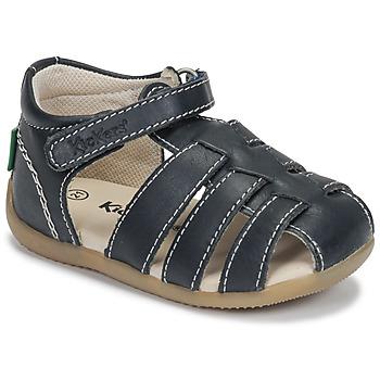 Topánky Chlapci Sandále Kickers BIGFLO-3 Námornícka modrá
