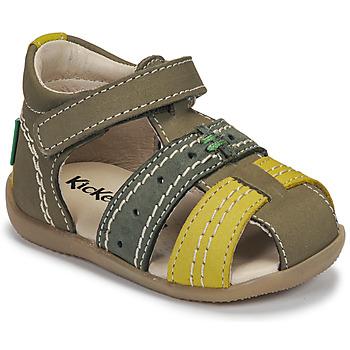 Topánky Deti Sandále Kickers BIGBAZAR-3 Zelená