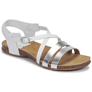 Topánky Ženy Sandále Kickers ANATOMIUM Biela / Strieborná