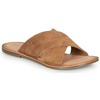 Topánky Ženy Šľapky Kickers DIAZ-2 Ťavia hnedá