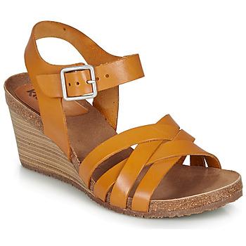 Topánky Ženy Sandále Kickers SOLYNA Ťavia hnedá