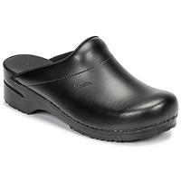 Topánky Muži Nazuvky Sanita KARL OPEN Čierna