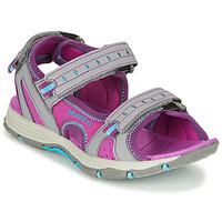 Topánky Dievčatá Športové sandále Merrell PANTHER SANDAL 2.0 Ružová / Šedá