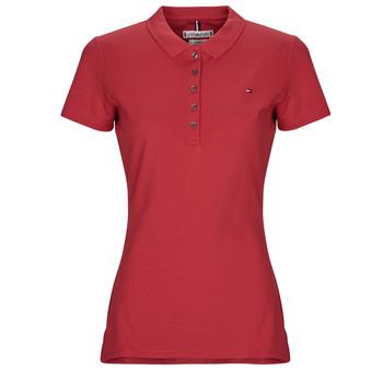 Oblečenie Ženy Polokošele s krátkym rukávom Tommy Hilfiger NEW CHIARA Červená