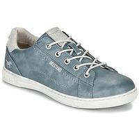 Topánky Ženy Nízke tenisky Mustang 1349301-875 Modrá