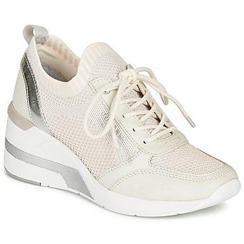 Topánky Ženy Nízke tenisky Mustang  Biela