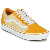 Topánky Ženy Nízke tenisky Vans COMFYCUSH OLD SKOOL Žltá