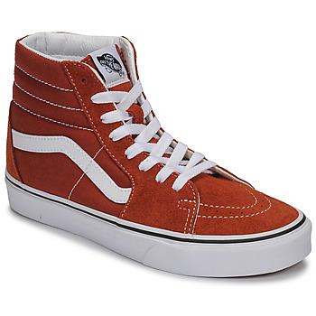 Topánky Členkové tenisky Vans SK8-HI Červená hrdzavá