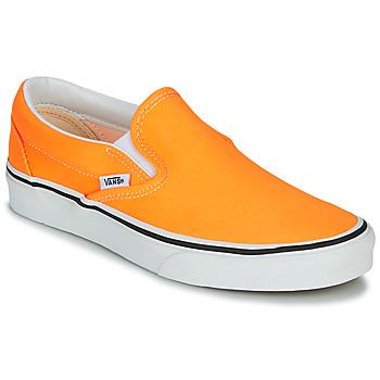 Topánky Ženy Slip-on Vans CLASSIC SLIP-ON NEON Oranžová