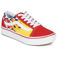 Topánky Chlapci Nízke tenisky Vans COMFYCUSH OLD SKOOL Červená / Žltá